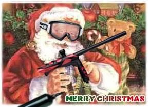 Santa vs. Grinch Paintball
